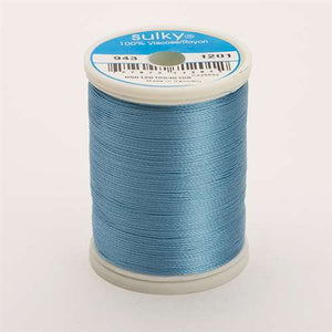 Sulky 40 wt 850 Yard Rayon Thread - 943-1201 - Med Powder Blue