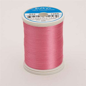 Sulky 40 wt 850 Yard Rayon Thread - 943-1256 - Sweet Pink