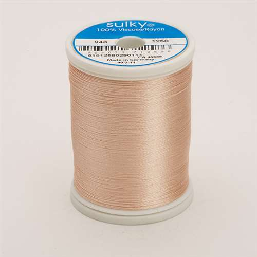 Sulky 40 wt 850 Yard Rayon Thread - 943-1258 - Coral Reef
