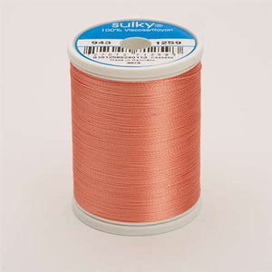 Sulky 40 wt 850 Yard Rayon Thread - 943-1259 - Salmon Peach