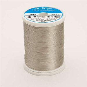 Sulky 40 wt 850 Yard Rayon Thread - 943-1321 - Gray Khaki