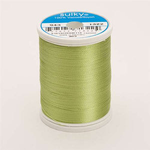 Sulky 40 wt 850 Yard Rayon Thread - 943-1322 - Chartreuse