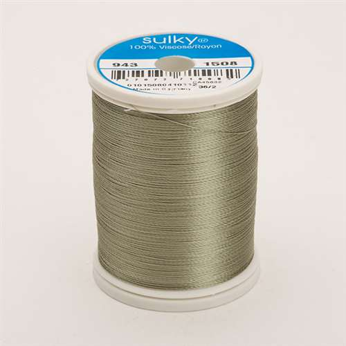Sulky 40 wt 850 Yard Rayon Thread - 943-1508 - Putty