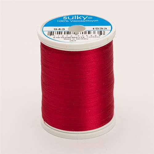 Sulky 40 wt 850 Yard Rayon Thread - 943-1533 - Light Rose