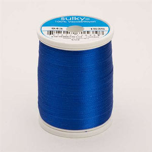 Sulky 40 wt 850 Yard Rayon Thread - 943-1535 - Team Blue