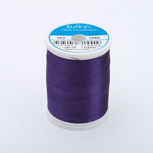 Sulky 40 wt 850 Yard Rayon Thread - 943-1554 - Purple Passion
