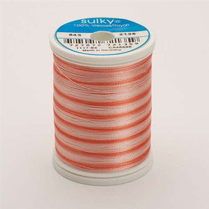 Sulky 40 wt 850 Yard Rayon Thread - 943-2135 - Peaches Var