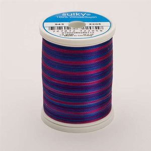 Sulky 40 wt 850 Yard Rayon Thread - 943-2205 - Blue/Fuchsia/Purple