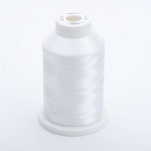 Sulky 40 wt 1500 Yard Rayon Thread - 944-1001 - Bright White