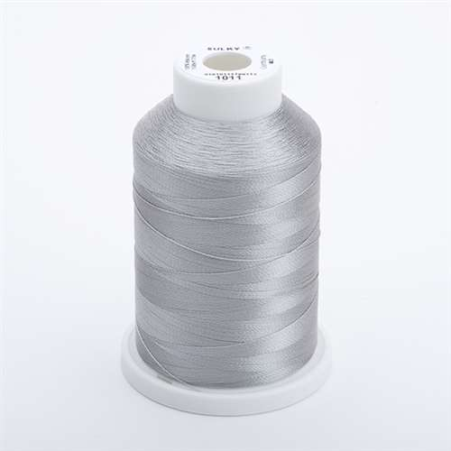 Sulky 40 wt 1500 Yard Rayon Thread - 944-1011 - Steel Grey
