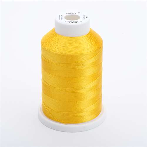 Sulky 40 wt 1500 Yard Rayon Thread - 944-1024 - Goldenrod