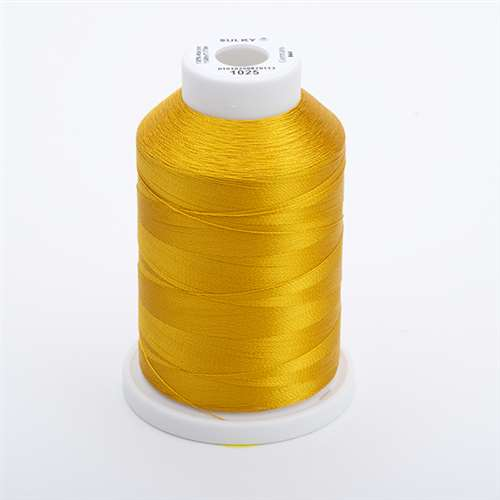 Sulky 40 wt 1500 Yard Rayon Thread - 944-1025 - Mine Gold