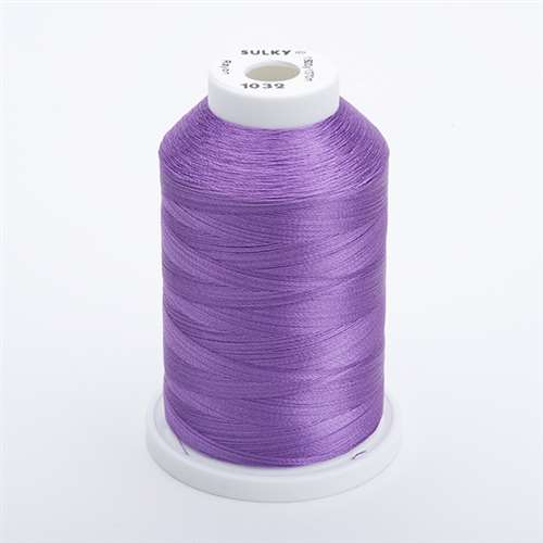 Sulky 40 wt 1500 Yard Rayon Thread - 944-1032 - Medium Purple