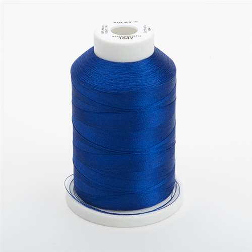 Sulky 40 wt 1500 Yard Rayon Thread - 944-1042 - Bright Navy Blue
