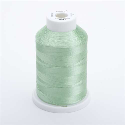 Sulky 40 wt 1500 Yard Rayon Thread - 944-1047 - Mint Green