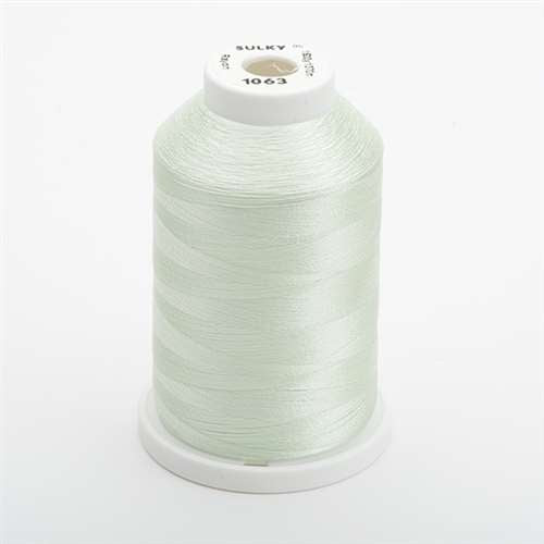 Sulky 40 wt 1500 Yard Rayon Thread - 944-1063 - Pale Yellow-Green