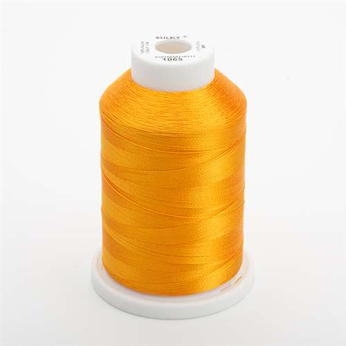 Sulky 40 wt 1500 Yard Rayon Thread - 944-1065 - Orange Yellow