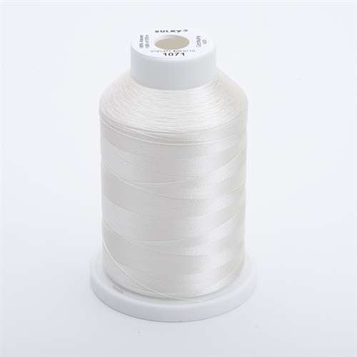 Sulky 40 wt 1500 Yard Rayon Thread - 944-1071 - Off White
