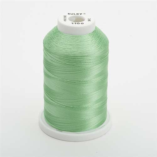 Sulky 40 wt 1500 Yard Rayon Thread - 944-1100 - Light Grass Green