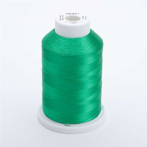 Sulky 40 wt 1500 Yard Rayon Thread - 944-1101 - True Green