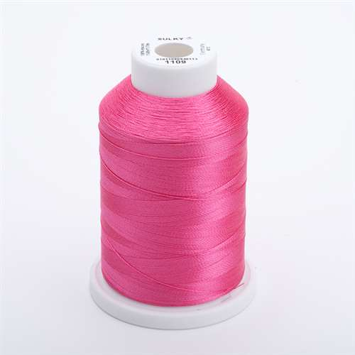Sulky 40 wt 1500 Yard Rayon Thread - 944-1109 - Hot Pink