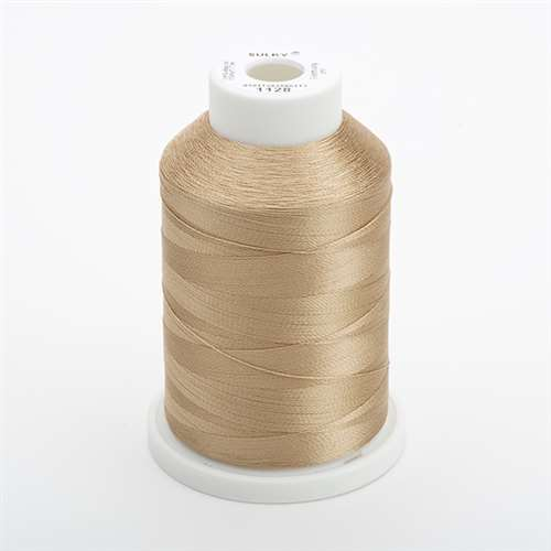 Sulky 40 wt 1500 Yard Rayon Thread - 944-1128 - Dark Ecru