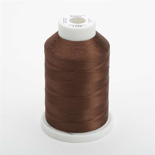 Sulky 40 wt 1500 Yard Rayon Thread - 944-1129 - Brown