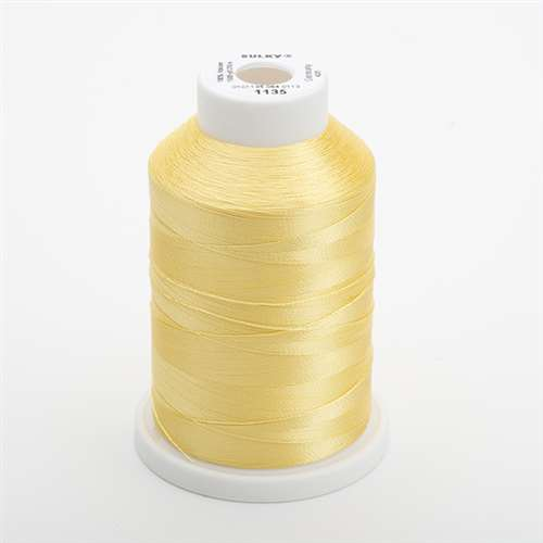 Sulky 40 wt 1500 Yard Rayon Thread - 944-1135 - Pastel Yellow