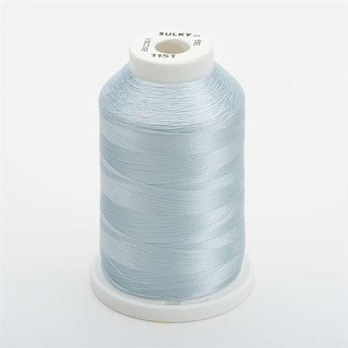 Sulky 40 wt 1500 Yard Rayon Thread - 944-1151 - Powder Blue Tint