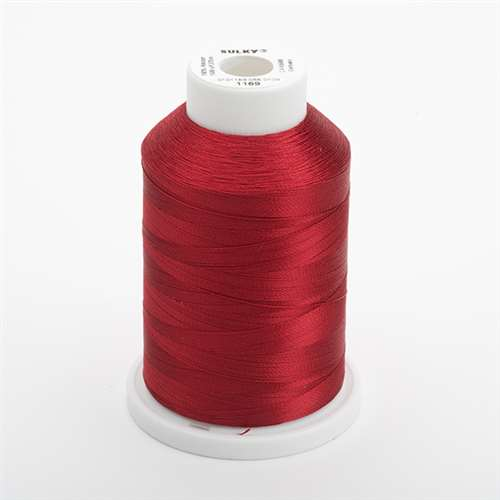 Sulky 40 wt 1500 Yard Rayon Thread - 944-1169 - Bayberry Red