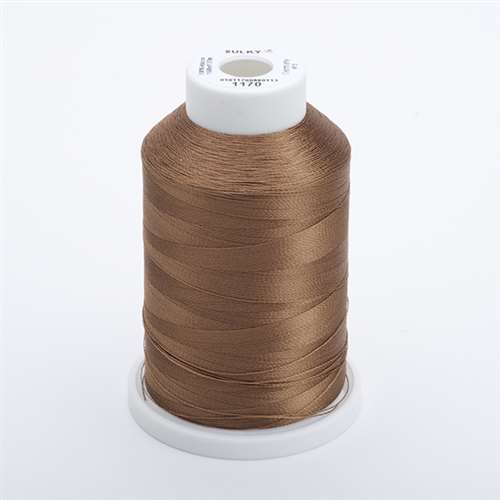 Sulky 40 wt 1500 Yard Rayon Thread - 944-1170 - Lt Brown