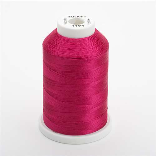 Sulky 40 wt 1500 Yard Rayon Thread - 944-1191 - Dark Rose