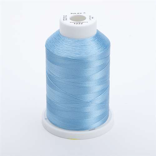Sulky 40 wt 1500 Yard Rayon Thread - 944-1222 - Lt Baby Blue