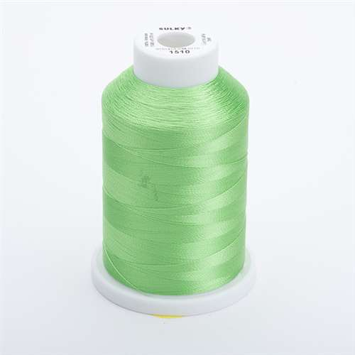 Sulky 40 wt 1500 Yard Rayon Thread - 944-1510 - Lime Green
