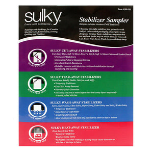 Sulky Stabilizer Sampler Pack