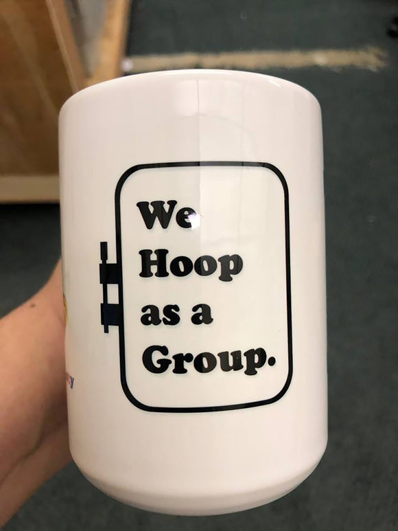 The Baby's Booty, We Hoop As a Group, & Carolina Thread Place Mug