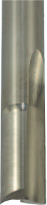 56-600 Double Flute - Solid Carbide O Flute Straight
