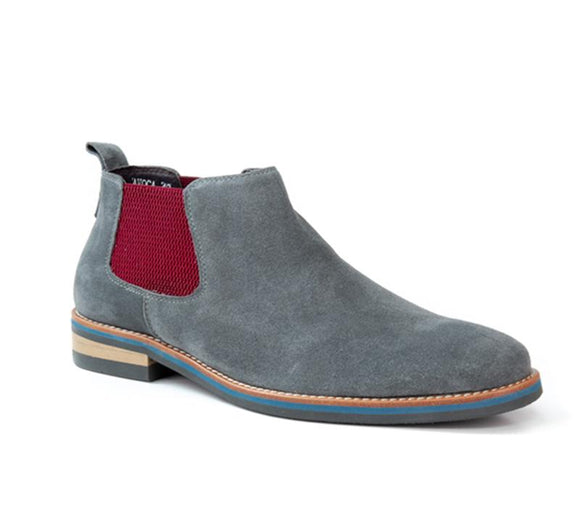 Avoca Grey Suede