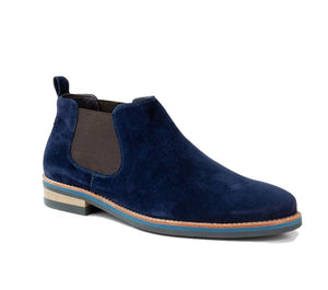 Avoca Navy Suede