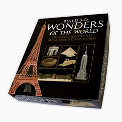 Build 3-D Wonders Imants Caklais Paper Design Eiffel Tower