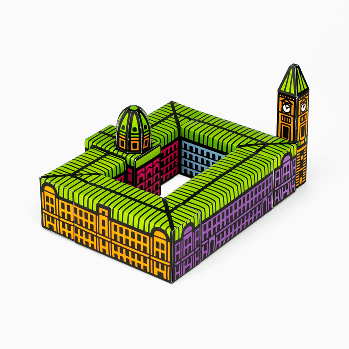 Foxetroo Cut-out Paper Model of Birmingham Council House Museum and Art Gallery
