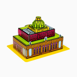 Foxetroo Cut-out Paper Model Cover of Pittville Pump Room in Cheltenham