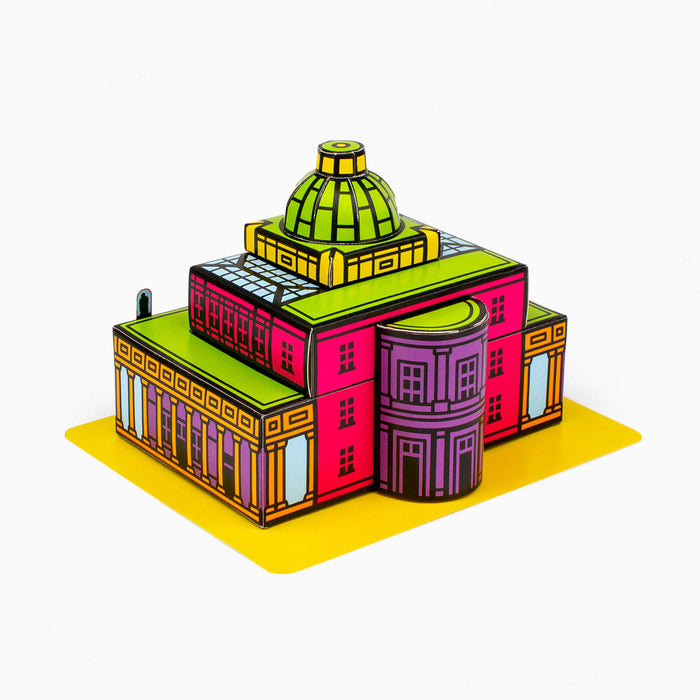 Foxetroo Cut-out Paper Model of Pittville Pump Room in Cheltenham