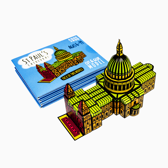 Foxetroo Cut-out Paper Model of St Pauls Cathedral London