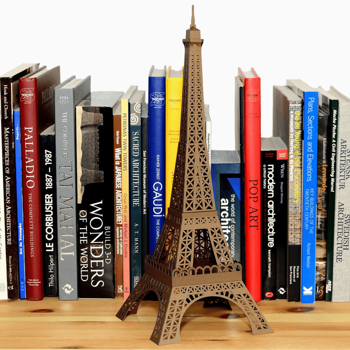 Eiffel Tower Paper Model by PaperLandmarks Lifestyle Shot
