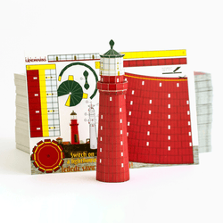 Kolka Lighthouse Postcard by PaperLandmarks