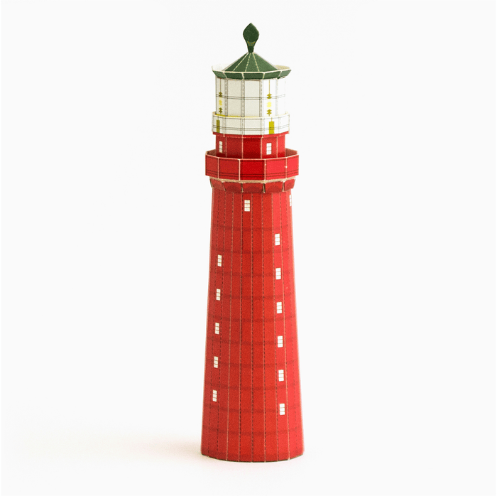 Kolka Lighthouse Postcard Model by PaperLandmarks