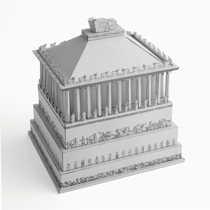 Mausoleum at Halicarnassus Paper Model by PaperLandmarks