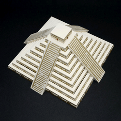 Mayan Pyramid Paper Model by PaperLandmarks