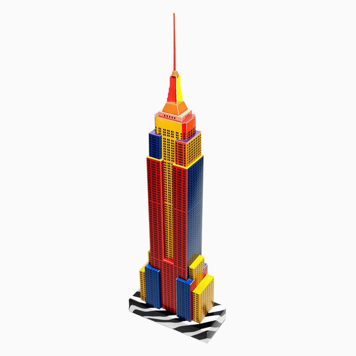 New York Skyscraper Paper Model by PaperLandmarks DIY Kit